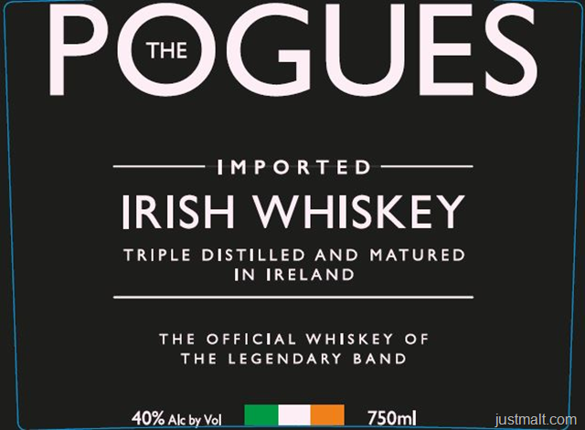The Pogues Irish Whiskey - The Official Whiskey Of The Legendary Band
