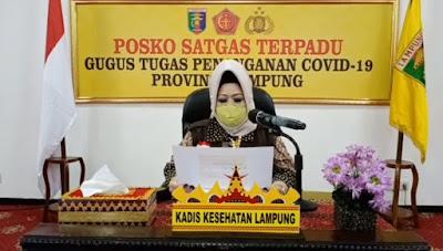 Kepala Dinas Kesehatan Provinsi Lampung, dr Reihana. (Ist/inilampung)