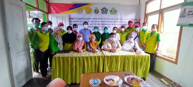 BPPSDMP dan Komisi IV DPR RI Berdayakan Petani dan Penyuluh Pertanian Kutim