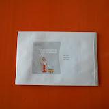 De kleuters van juf Kris en juf Karolien posten hun brief naar de Sint