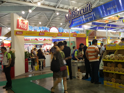 It got steadily more crowded as the day wore on at FoodAsia 2016.