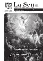 Hoja Parroquial Nº507 - Mientras los bendecía  fue llevado al cielo. 600 aniversario de la erección de la colegiata. Iglesia Colegial Basílica de Santa María 2013.