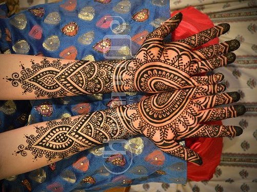 Mehndi For Thin Hands : Top heart shaped mehndi designs bling sparkle