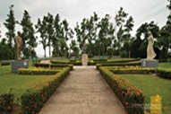 Corregidor's Quezon, Osmena and Filipino Woman Park