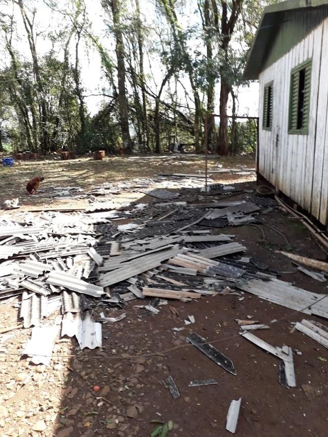 Administração de Cristal do Sul divulga dados preliminares dos estragos ocasionados pelo granizo no município.