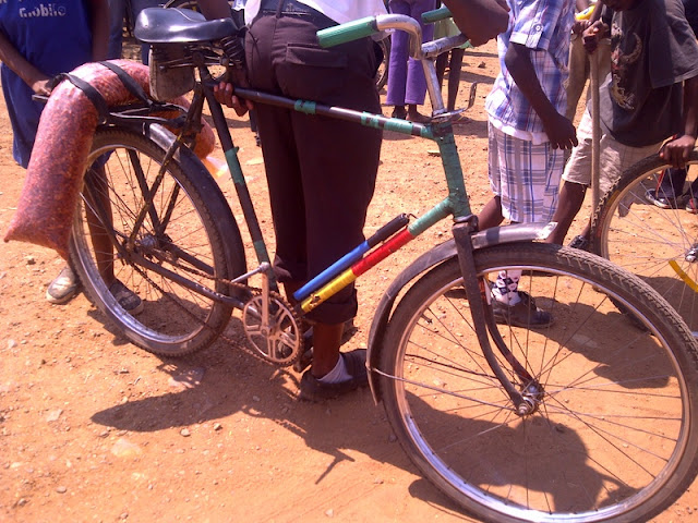 A typical bike in Botswana