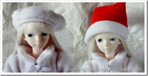 Ball Jointed Doll Wearing Cute Hats