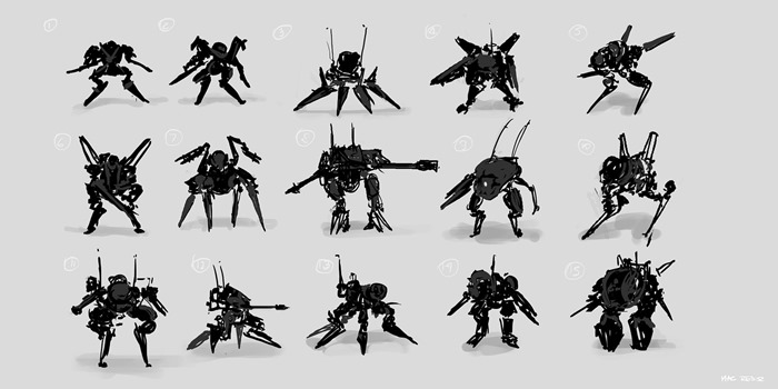 coffeepainting__mecha_thumbnail_sketches_by_macrebisz-d5f3xpj