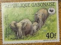 timbre Gabon 002