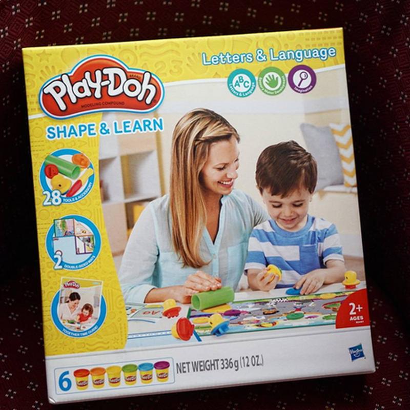 Mencuba Nasib,  Mana Tahu Kan..Kalau Terpilih Aqlan Dapatlah Play-Doh