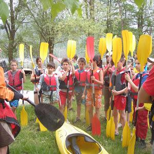 Kayak avec le collège St Joseph