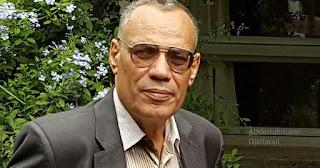 Décès de l'universitaire et poète algérien Hamid Nacer-Khodja.