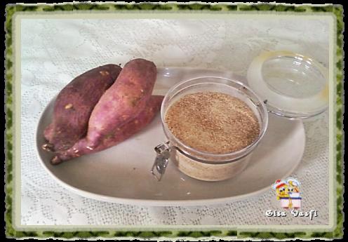 Farinha de batata-doce