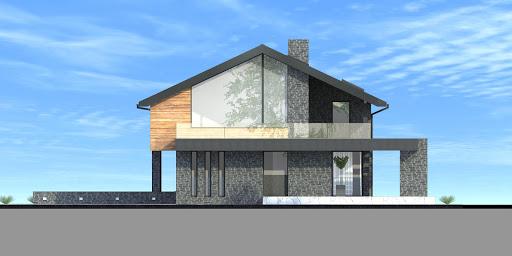 New House 21 - Elewacja prawa