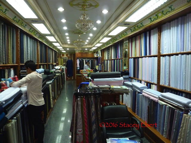 Have your clothes custom made in Thailand. From Through the Eyes of an Educator: Bangkok, Thailand