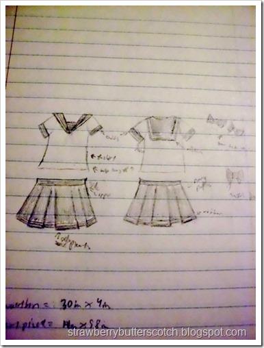 Sailor Moon? No, Just a Uniform: The Sketch