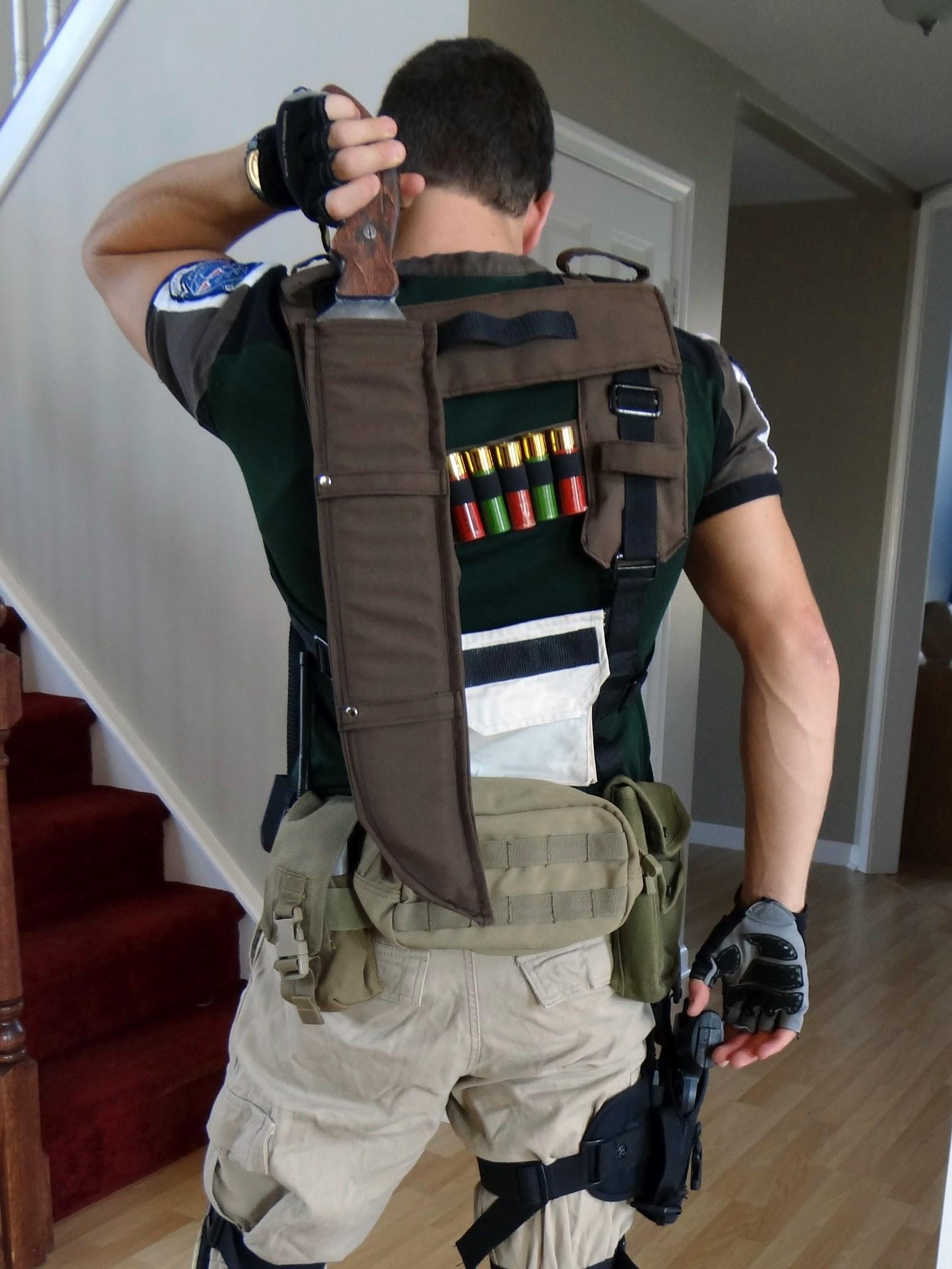 Resident Evil – Chris Redfield blade – Cosplay4UsAll | 1537 x 2048 jpeg 333kB