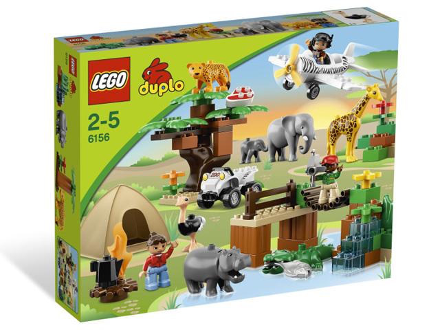 レゴ デュプロ サファリパーク 6156