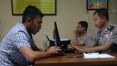 Terjadi Lagi Kekerasan Terhadap Wartawan. !! Diduga Debt Collector PT. Andalan Finance Serang Melakukan Tindak Kekerasan Terhadap Wartawan