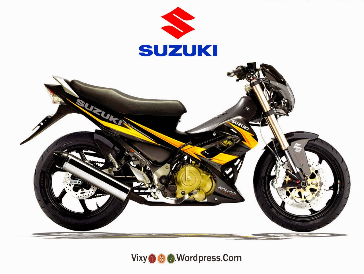 Suzuki Satria F150 Modifikasi