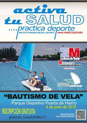 Aprende a navegar en Madrid, en el Parque Deportivo Puerta de Hierro