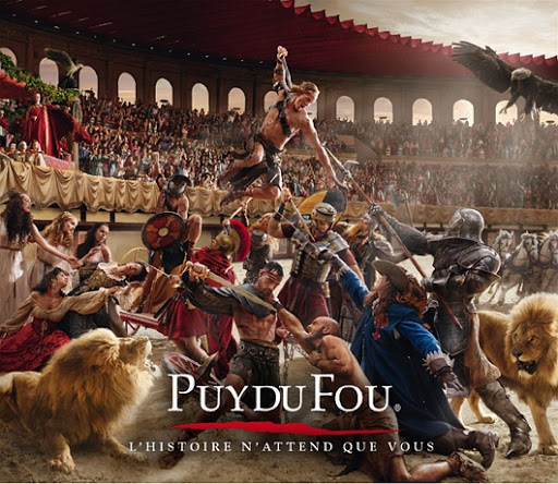 Puy du Fou.  From Love Theme Parks? Unusual 1 day excursions from Paris
