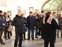 13 A Karaván résztvevői ellátogattak a Limes Galériába is.JPG