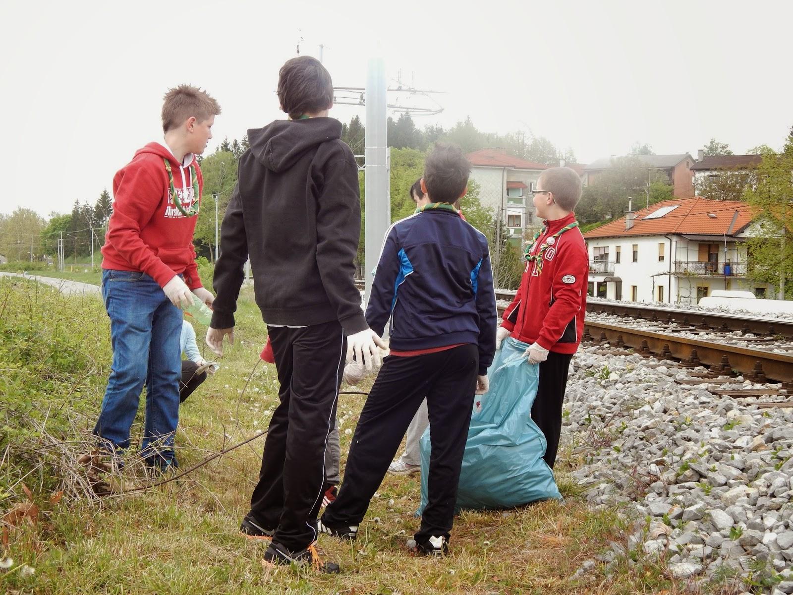 Čistilna akcija 2014, Ilirska Bistrica 2014 - DSCN1658.JPG