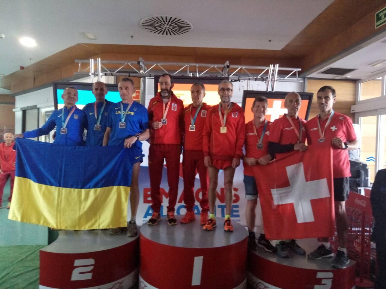 Александр Вовк на чемпионате Европы по бегу вне стадиона