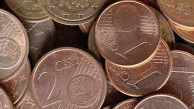 Δύο στους τρεις Ευρωπαίους ζητούν κατάργηση των κερμάτων του 1 και των 2 λεπτών