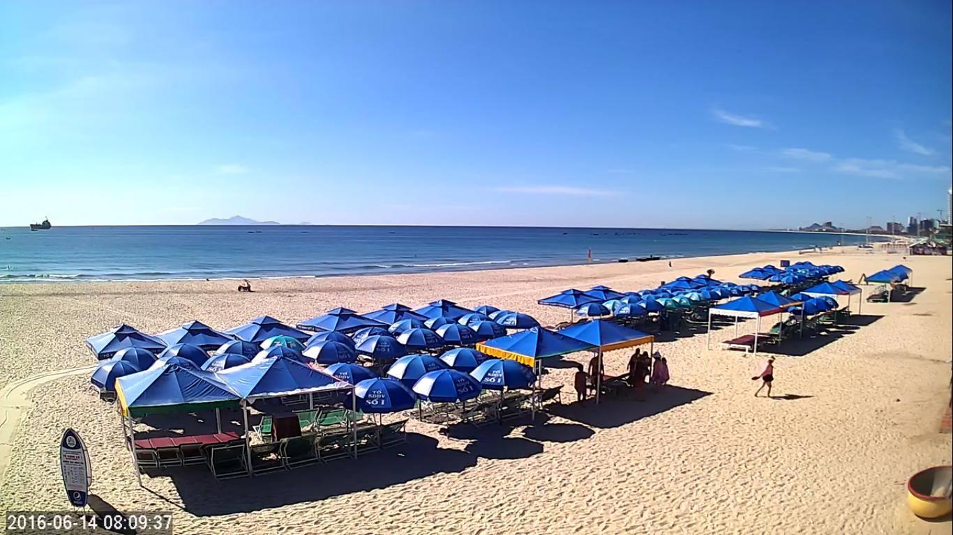 Ảnh chụp biển đẹp Đà Nẵng bằng camera giám sát của vp9.tv
