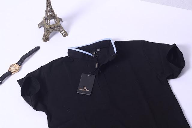 Áo phông massimo cổ trụ