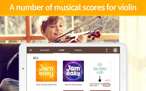 Jameasy for Violin 2.3.3 screenshots 12