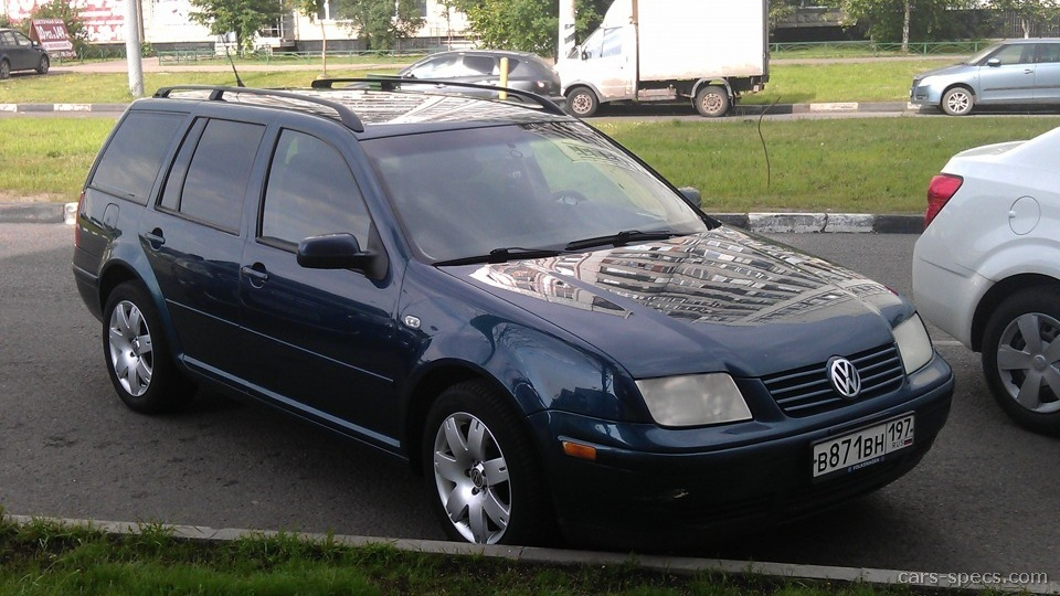 2001 Volkswagen Jetta Wagon Specifications, Pictures, Prices