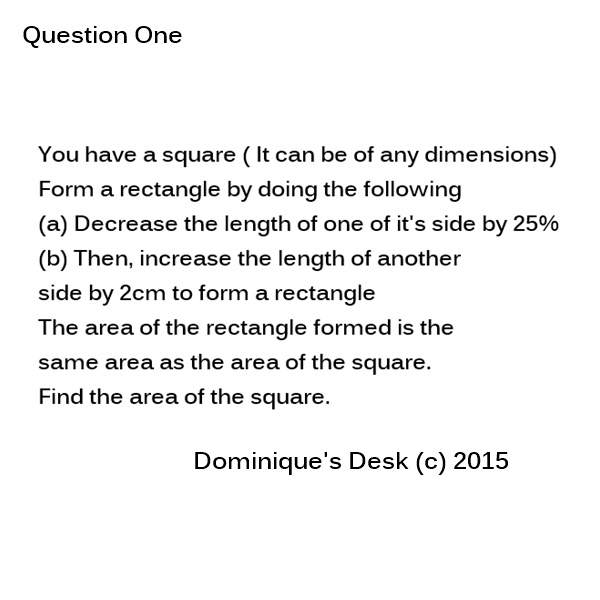 Maths Question