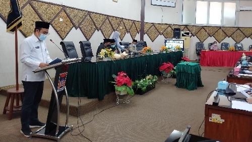 DPRD Kota Padang Gelar Rapat Paripurna Penutupan Masa Sidang I dan Pembukaan Masa Sidang II