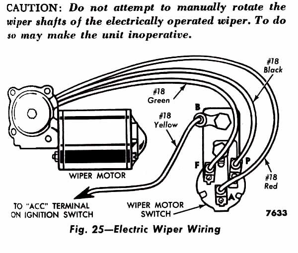 Wiper Motor Wiring Diagram Chevrolet - Wiring Diagram