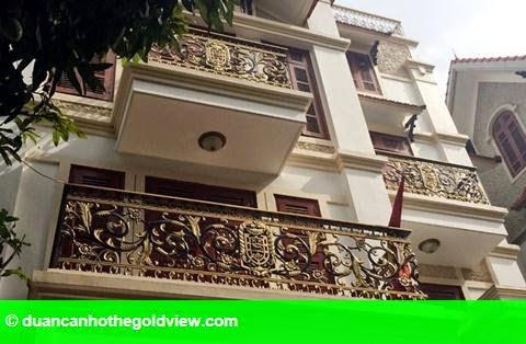 Hình 7: Dãy biệt thự xa xỉ của 3 anh em ruột đại gia Thái Bình
