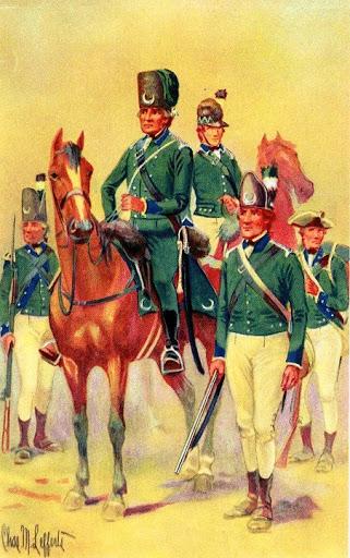 Queen S Rangers 1776 1783 Uniform Planetfigure