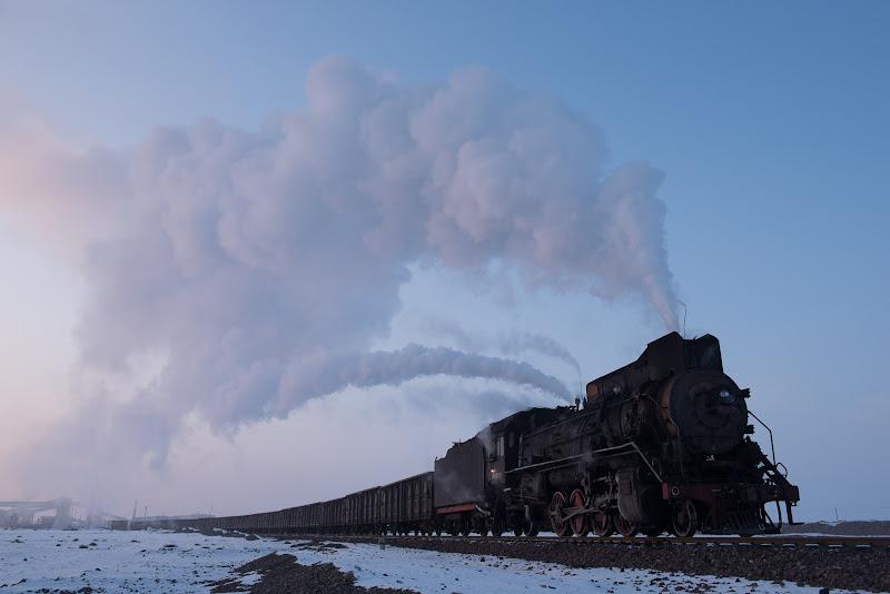 161231 北二鉱を出た運炭列車