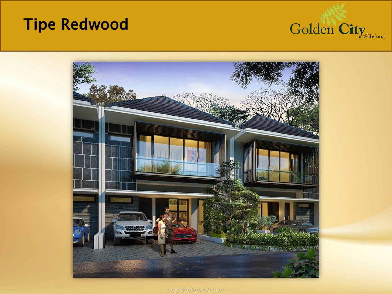 Rumah Tipe Redwood Cluster Greenwood Golden City Bekasi