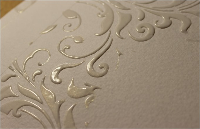 Embossing Paste Perfect Pearls Distress Ink Tim Holtz Stencil Stampin Up Love you Lots Frog Card 03