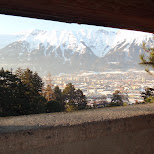 view from schloss ambras in Innsbruck, Tirol, Austria