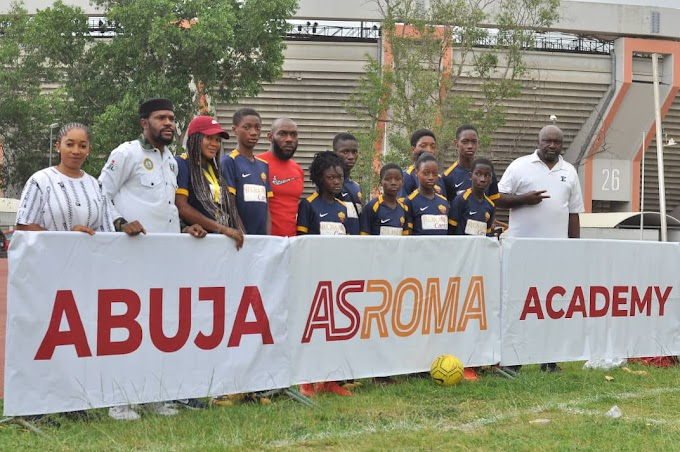 AC Roma Establishes Academy In Abuja, Partners With MOP To Promote Peace