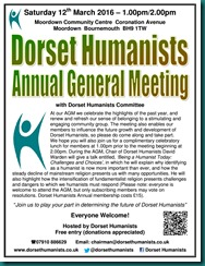 Dorset Humanists AGM 12 March 2016