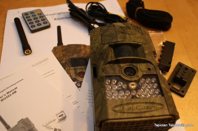 Scout Guard MG582-8M riistakamera riistakameratesti unboxing