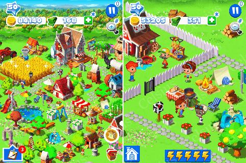 [Game Hack] Green Farm 3 [By Gameloft] (Tiếng Việt) hack by Mrbin