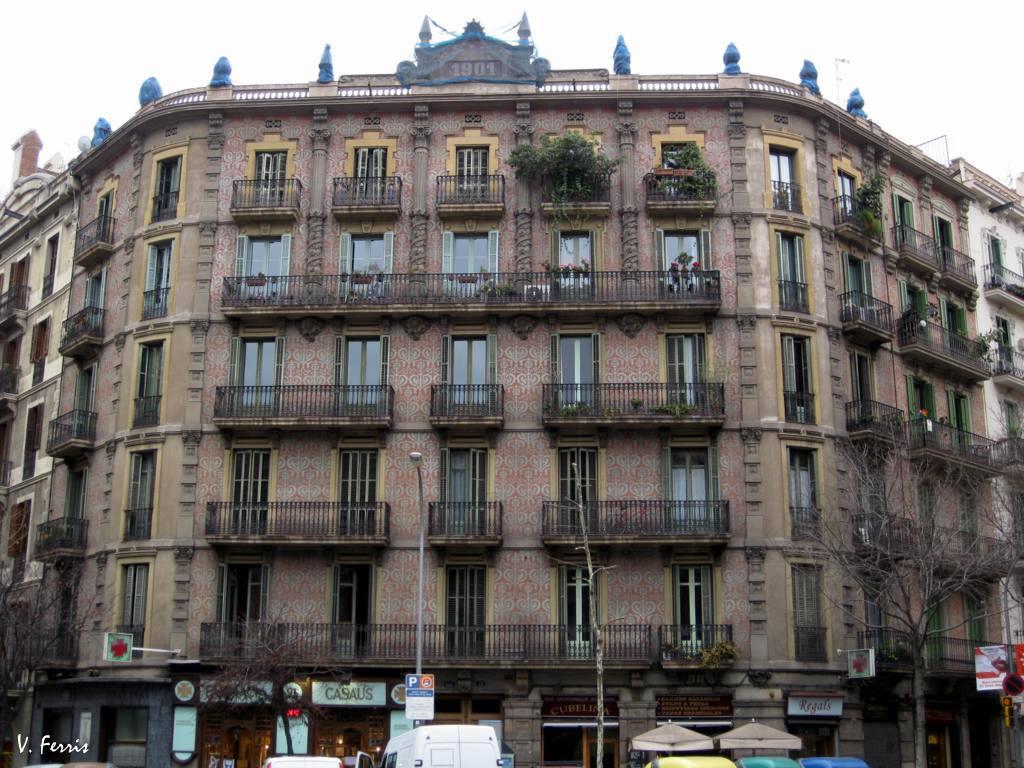 Casas esteve parera jaume forn barcelona modernista - Casas modernistas barcelona ...