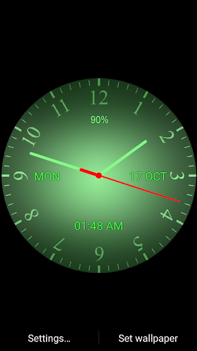 Download Super Analog Clock Live Wallpaper Free For Android