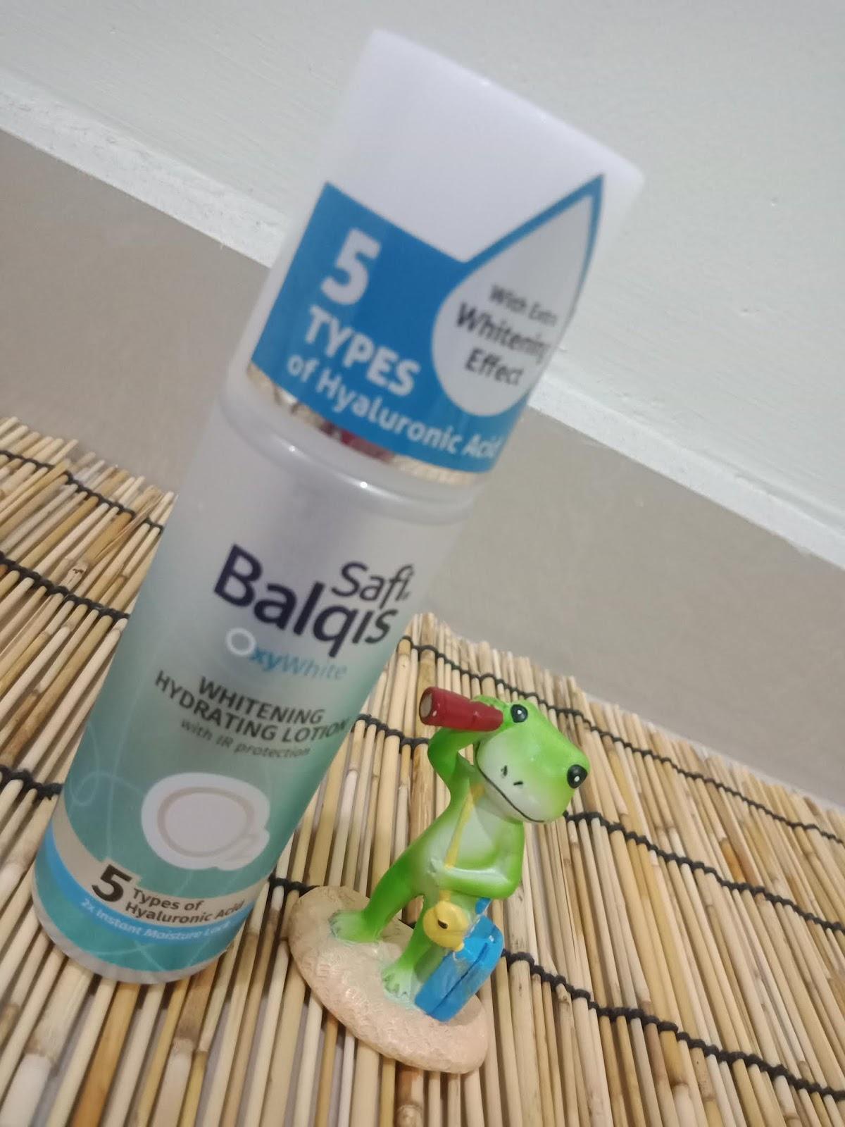SAFI BALQIS OXYWHITE WHITENING HYDRATING LOTION